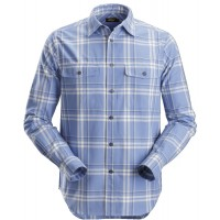Snickers 8502 RuffWork Flannel Checked Long Shirt Shirt