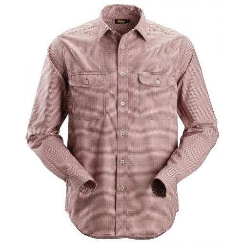 Snickers 8507 AllroundWork Comfort Checked Long Shirt