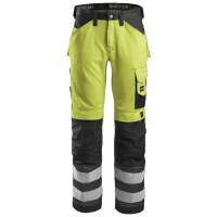 Snickers Workwear 3333 Hi Visibility Work Trousers