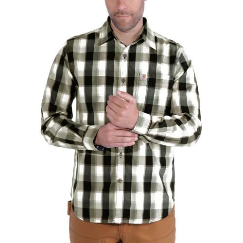 Carhartt Slim Fit Plaid Shirt Ls