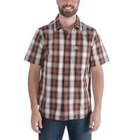 Carhartt S/S Essential Open Collar Shirt Plaid