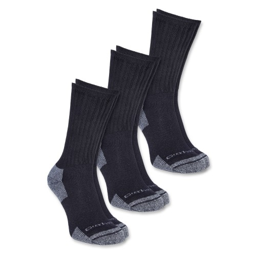 Carhartt All-Season Cotton Sock 3-Pair