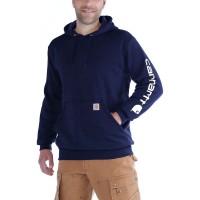 Carhartt  Sleeve Logo Hooded Sweatshirt
