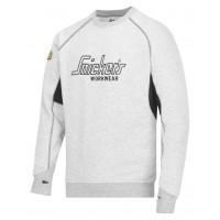 Snickers 2820 Logo Sweatshirt Black