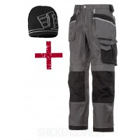 Snickers 3212 3-Series Trousers & 9093 Snickers Windstoper Hat