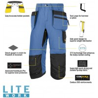 Snickers 6103 LiteWork Pirate Trousers