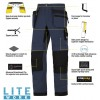 Snickers 6206 LiteWork Trousers Holster Pockets 37.5