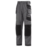 Snickers 3244 XTR 3rd Generation Craftsman Work Trousers Grey/Black