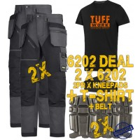 Snickers 6202 Kit2 Ruffwork Holster Pocket Trousers