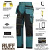 Snickers 6202 Kit3 Ruffwork Holster Pocket Trousers