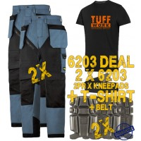 Snickers 6203 Kit1 Ruffwork Holster Pocket Trousers