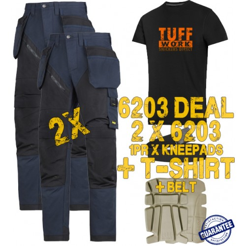 Snickers 6203 Kit2 Ruffwork Holster Pocket Trousers