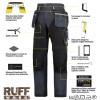 Snickers 6204 Kit1 Ruffwork Denim Trousers