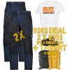 Snickers 6303 Kit1 Ruffwork Pocket Trousers