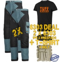 Snickers 6303 Kit2 Ruffwork Pocket Trousers