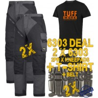 Snickers 6303 Kit3 Ruffwork Pocket Trousers