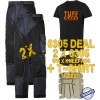Snickers 6305 Kit2 Ruffwork Denim Trousers