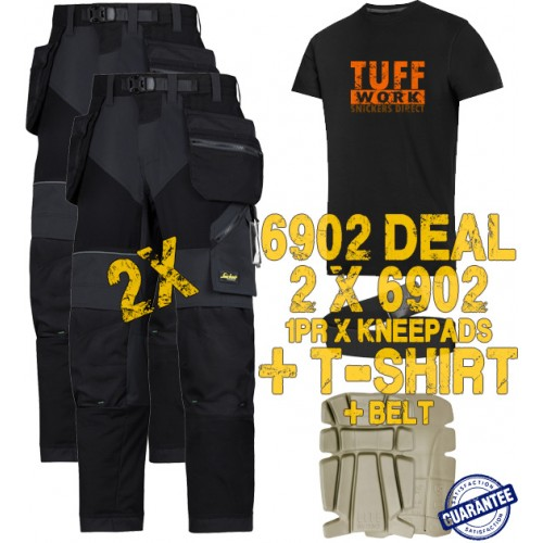 Snickers 6902 Kit2 Flexiwork Ripstop Holster Trousers