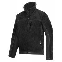 Snickers 8011 Pile Fleece Jacket Black