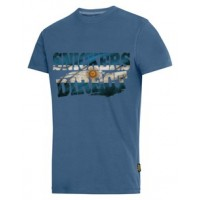 Snickers 2502 T-Shirt EXCLUSIVE Argentina Flag Design