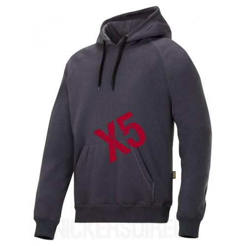 Snickers 2800 x 5 Classic Hoodie New