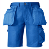 Snickers Workwear 3014 Craftsmen Shorts Canvas+ Blue LIMITED