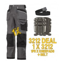 Snickers 3212 3-Series DuraTwill Trousers 3212