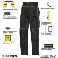 Snickers 3215 Comfort Cotton Workwear Trousers