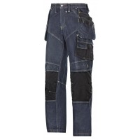Snickers 3255 Denim Work Holster Trousers