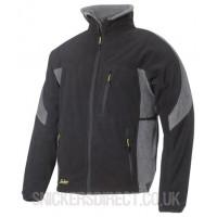 Snickers 8010 Protective Fleece Jacket Black