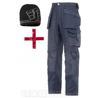 Snickers 3214 Trousers Plus 9093 Windstopper