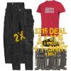 Snickers 2 x 3215 Trousers Plus SD T-Shirt & 2 x 9111 Knee Pads, PTD Belt