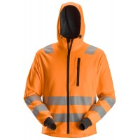 Snickers 8039 AllroundWork High-Vis FZ Hoodie