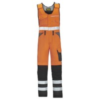 Snickers Workwear 0313 High Visibility Work Onepiece Class 1, Snickers High Visibility One Piece