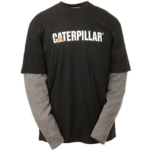 CAT 1510036 Thermal Latered Long Sleeve T-Shirt, CAT T-Shirt