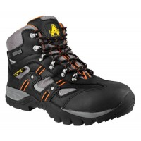 Amblers FS193 Waterproof Safety Boots With Steel Toe Caps & Midsole