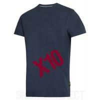 Snickers Workwear 2504 x 10 Heavy T-Shirt New