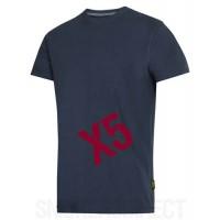 Snickers Workwear 2504 x 5 Heavy T-Shirt New