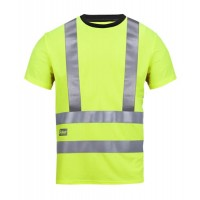 Snickers Workwear 2543 High-Vis A.V.S. T-Shirt Class 2/3