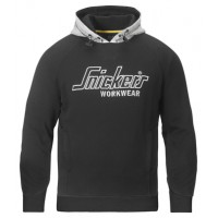 Snickers 2808 Hoodie Sweatshirt Black