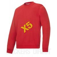 Snickers Workwear 2810 x 5 Classic Sweatshirt, Snickers Workwear Clasic Sweatshirt