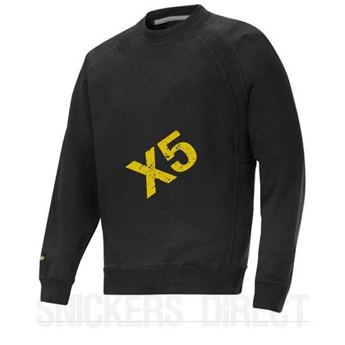 Snickers Workwear 2812 x 5 Heavy Sweatshirt, Snickers Sweatshirts