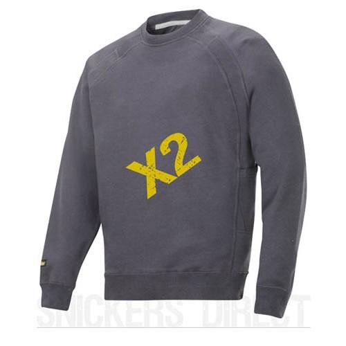 Snickers Workwear 2812 x 2 Heavy Sweatshirt, Snickers Sweatshirts