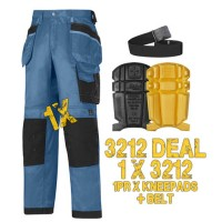 Snickers 3312 Kit Kneepads & PTD Belt