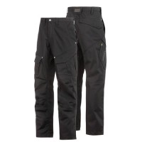 Snickers 3393 Service Line Rip Stop Trousers Black