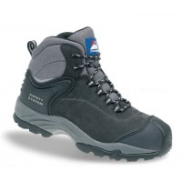 Himalayan 4103 Safety Boots Black with Steel Toe Caps and Midsole