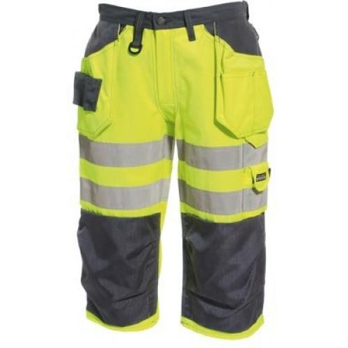 Tranemo Ce-Me Hi-Vis 3/4 Length Craftsman Trousers