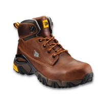 JCB 4X4-T Safety Boots Tan With Steel Toe Caps & Midsole