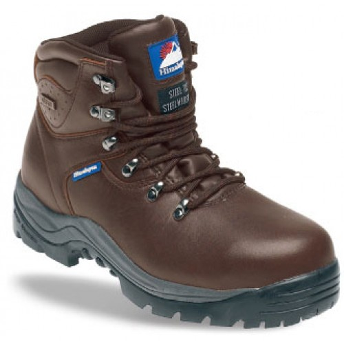 Himalayan 5201 Brown Safety Boots