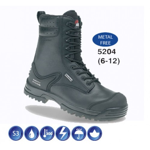 Himalayan 5204 Combat Safety Boots With Composite Toe Caps & Midsole